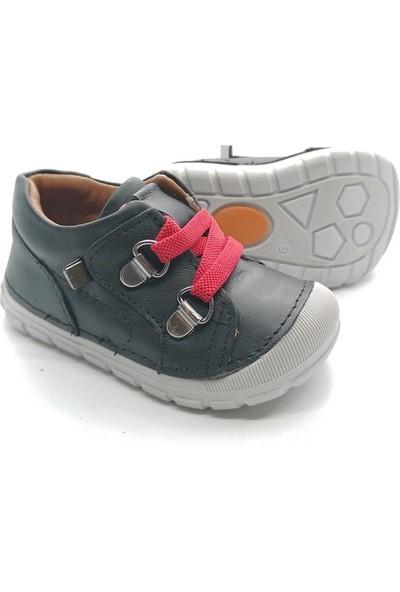 Arulens Çocuk Ayakkabı Erkek | Siyah Cilt Deri- Anatomik Tasarım- %100 Deri 21