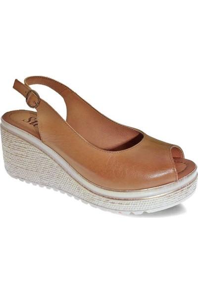 Stella 20345 Kadın Deri Sandalet 38
