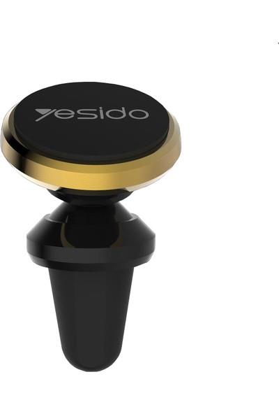 Yesido C19 Araç Içi Telefon Tutucu Manyetik Döner Başlık