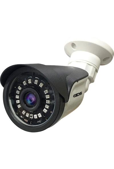 Ids - 5mp Lens 1080P Ahd Fullhd Güvenlik Kamerası - 18 Nano LED Gece Görüşlü - Su Geçirmez