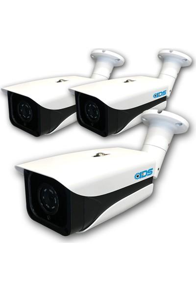 Ids - 5mp Lens 1080P Ahd Fullhd Güvenlik Kamerası - 4 Kıng Atom LED Gece Görüşlü - Su Geçirmez