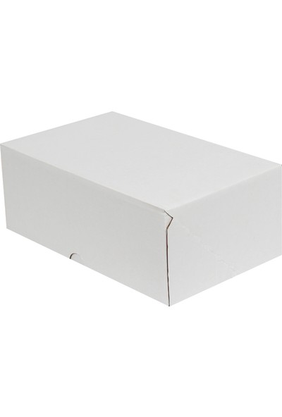 Kolici Beyaz E-Ticaret Kargo Kutusu 17 x 12,5 x 7,5 cm 25'li