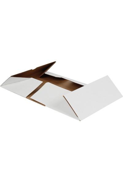 Kolici Beyaz E-Ticaret Kargo Kutusu 23,5 x 10 x 4,5 cm 25'li