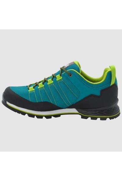 Jack Wolfskin 4035321 Green/Lime Botte Erkek Outdoor Ayakkabı 42
