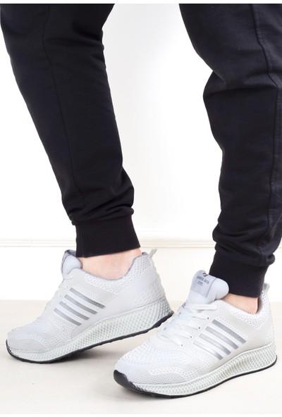 Hammer Jack Free 545 1120-M Erkek Ayakkabı Beyaz - Gri
