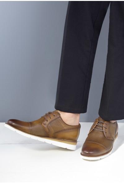 20Y Marcomen 152-02617 Erkek Deri Günlük Ayakkabı Taba