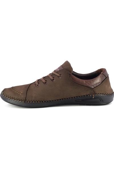 20Y Marcomen 152-11330 Erkek Deri Günlük Ayakkabı Kahverengi