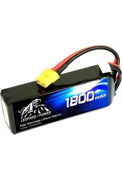 Leopard Power 1800 Mah 11,1V 3s 30C Lipo Batarya