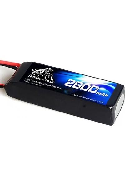 Leopard Power 2600 Mah 11,1V 3s 30C Lipo Batarya