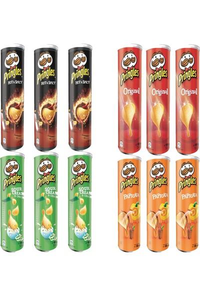 Pringles Mega Paket 165 gr 12'li