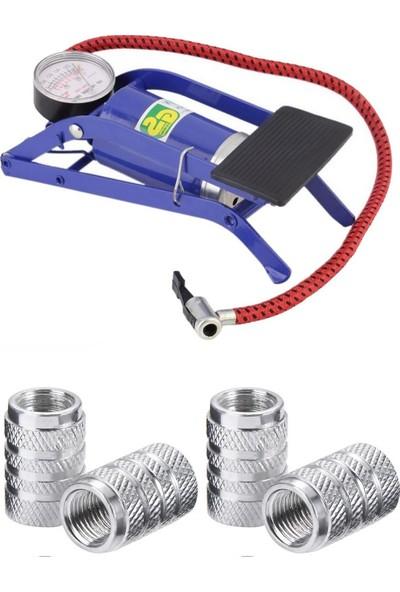 Modacar Bisiklet Şişirici Ayak Hava Pompası Sibop Kapağı Seti 428479