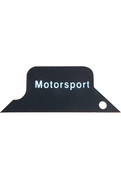 Bmw Depo Bmw E36 Gösterge İçi Motorsport Logo Siyah