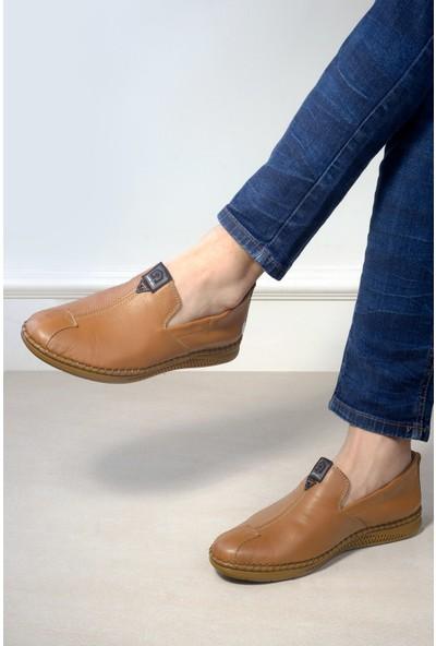 Mammamia D20YA-7670 Erkek Deri Ayakkabı Taba
