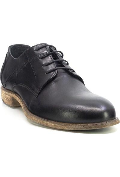 Eşle C801 M Erkek Deri Klasik Ayakkabı Siyah
