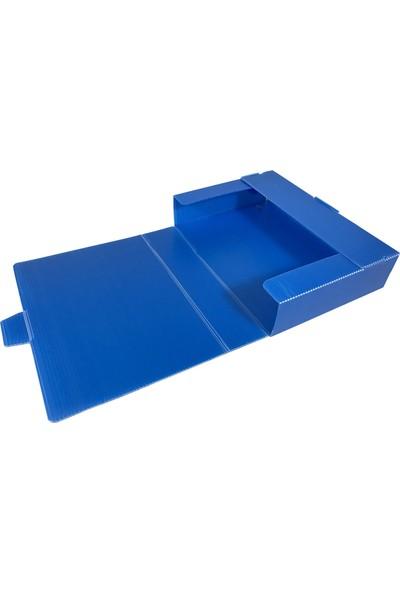 Ati Plastik Arşiv Kutusu 22 x 31 x 6,5 cm 500'lük - 25'li