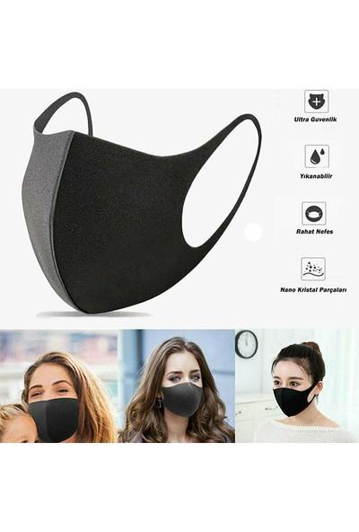 Gamerloot Testex Yıkanabilir 3 Katlı Siyah Maske - 5 Adet