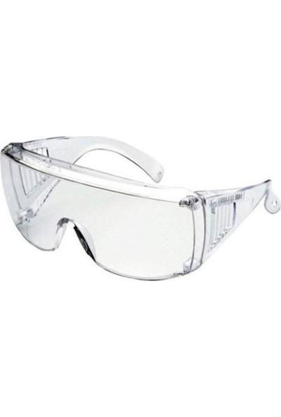 Maxsafety SE501 Şeffaf Camlı Buğlanmaz Koruyucu Gözlük