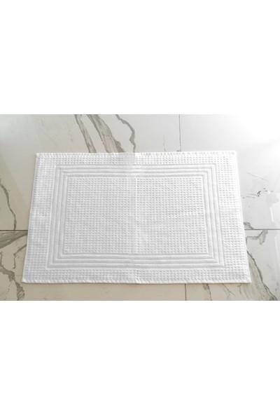 Neşe Home Collection Petek Pike Paspas 50 x 75 cm Beyaz