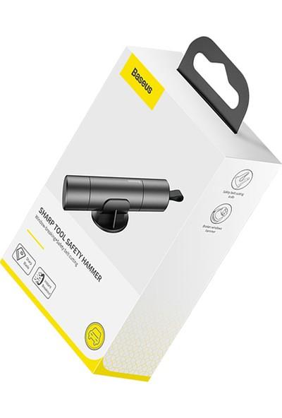 Baseus Sharp Tool Safety Hammer (Araç Pencere Camı ve Emniyet Kemeri Kesici)