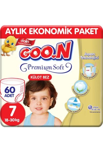 Goon Premium Soft Külot Bez 7 Beden Aylık Ekonomik Paket 60 Adet