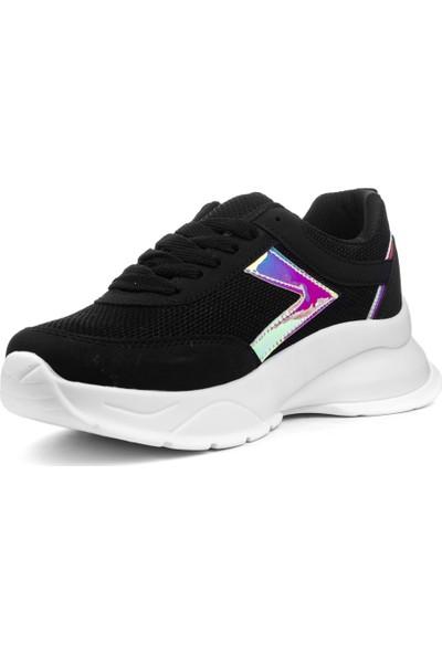 Coollest Kadın Bağcıklı Spor Ayakkabı Sneaker