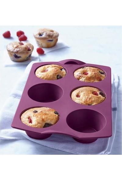 Tupperware Mucize Silikon Mini Kek Kalıbı Mini Kekler 6 x 115 cm