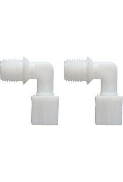 E-Water Su Arıtma Filtresi 1/4 Dirsek Jako Bağlantılı Somunlu Nsf Onaylı