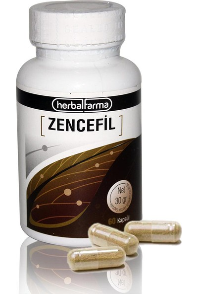 Herbal Farma Zencefil Kapsül