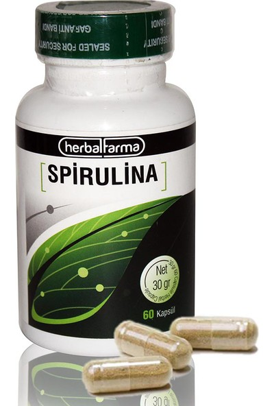 Herbal Farma Spirulina Kapsül