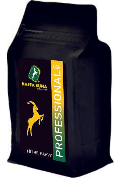 Kaffa Buna Coffee Professional Use Filtre Kahve Kağıt ve Metal Filtre 250 gr