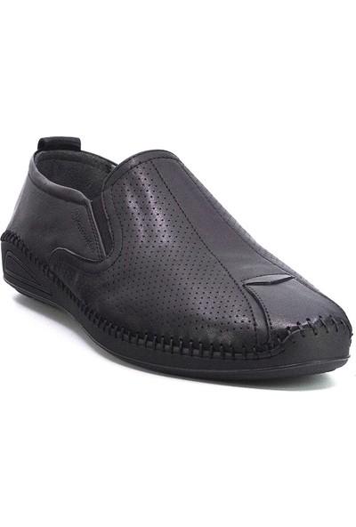 Marcomen 20Y 152-11349 Erkek Deri Günlük Ayakkabı Siyah