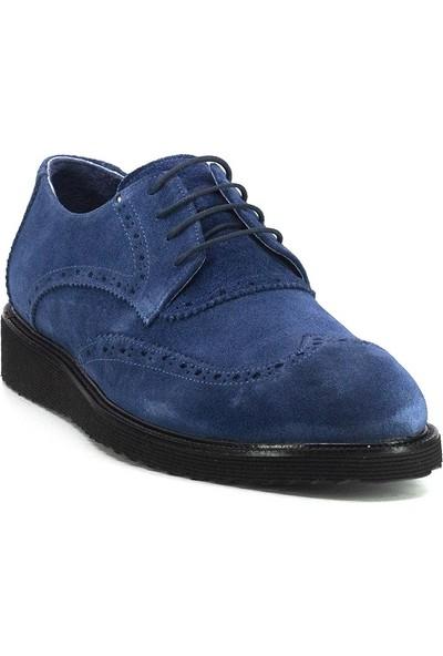Eşle Ayakkabı 20Y E1103 M Erkek Deri Günlük Ayakkabı Mavi