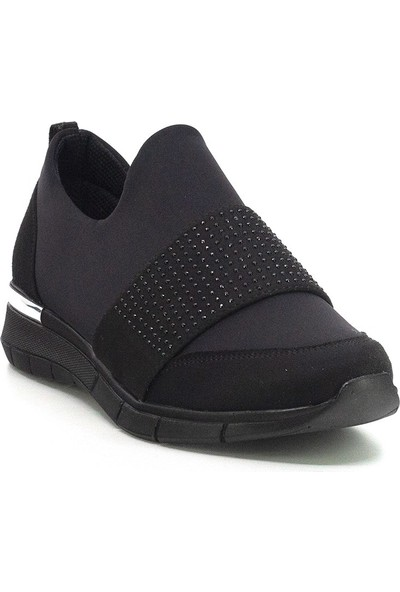 Eşle Ayakkabı 20Y 140-407 Kadın Spor Ayakkabı Siyah