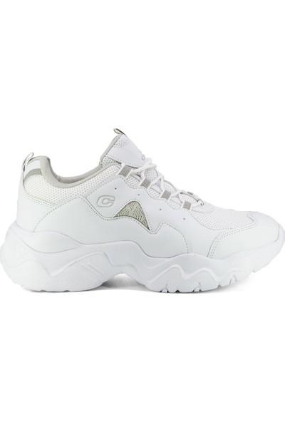 Eşle Ayakkabı 20Y C5100Z Kadın Spor Ayakkabı Beyaz