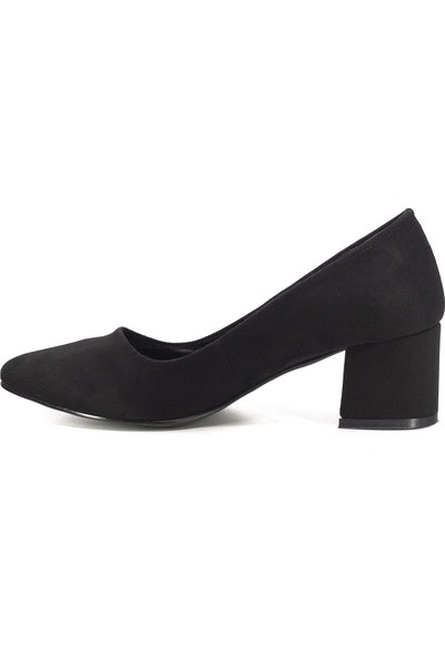 Eşle Ayakkabı 20Y 9501-1 Topuklu Ayakkabı Siyah