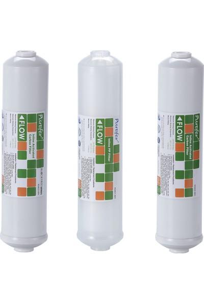 "Global Water Solutions 12"" Inline Filtre Seti Membransız"