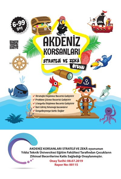 Beceri Dünyası Akdeniz Korsanları Strateji ve Zeka Oyunu