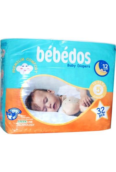 Bebedos Bebek Bezi 5 No. Junior Boy 32'li Paket