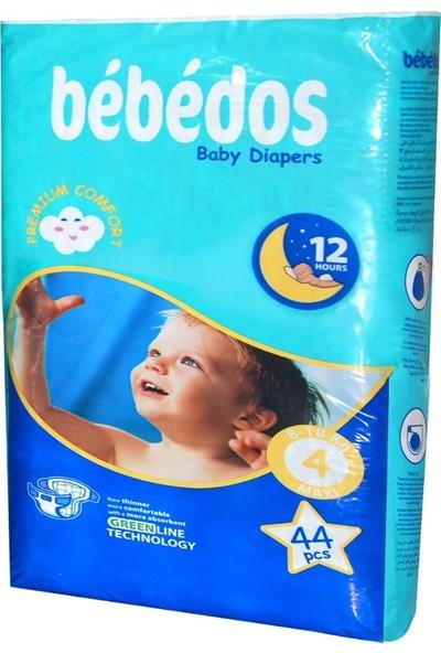 Bebedos Bebek Bezi 4 No. Maxi Boy 44'lü Paket