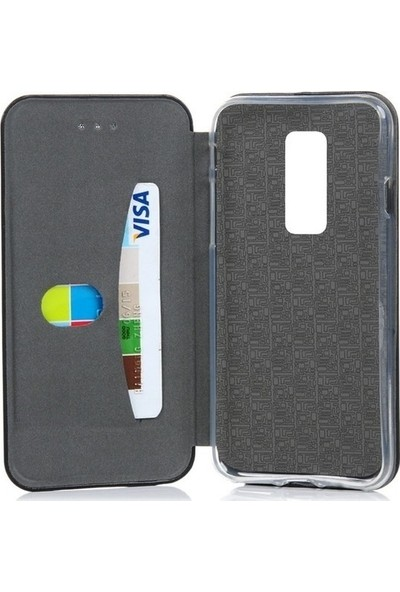 A Shopping Apple iPhone Xs Max Kılıf Kapaklı Cüzdan Flip Cover Wallet Kılıf - Gold
