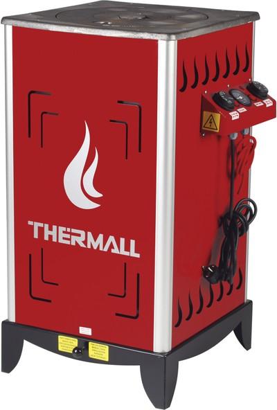 Thermall T-15 Ks Kovalı Fanlı Kalorifer Sobası 15.000 Kcal/h - 17.4 Kw