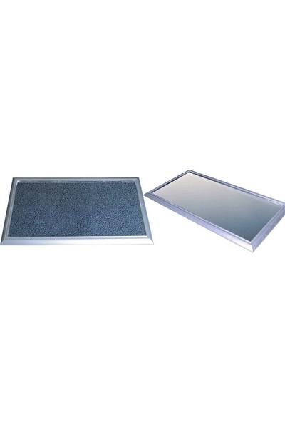 Sermat Alüminyum Hijyen Paspas Ebat: 40 x 60 cm Gri