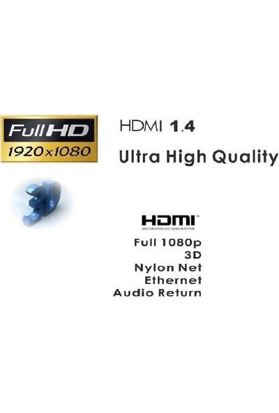 Concord Sargılı HDMI Kablo Full Hd 1.5m