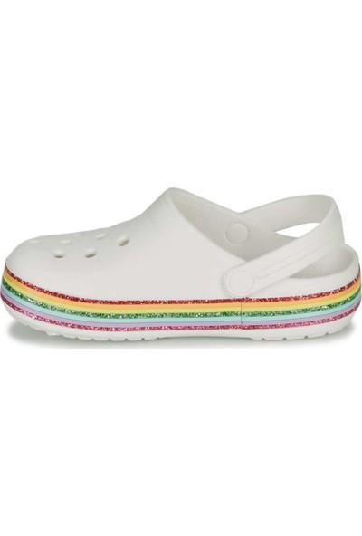 Crocs Crocband Rainbow Çocuk Terlik 206151-100