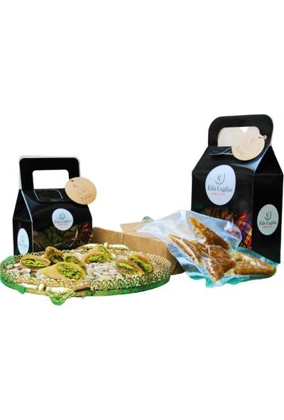Eda Çağdaş Doğal Ürünler Fıstıklı Muska İnce Pestilli 500 gr