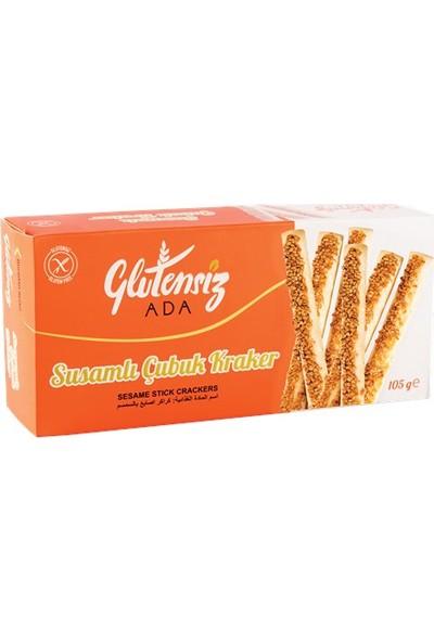 Glutensiz Ada Susamlı Çubuk Kraker 105 gr
