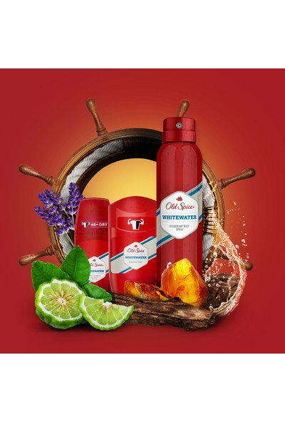 Old Spice Deo 150 ml + Deo Stick 50 ml + Roll On White Water 50 ml