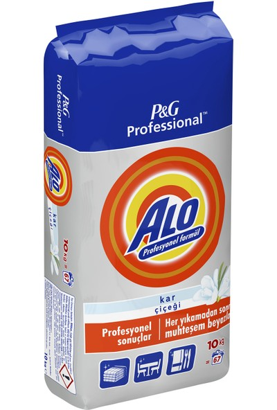Alo Professional 10 Kg Toz Çamaşır Deterjanı PGP