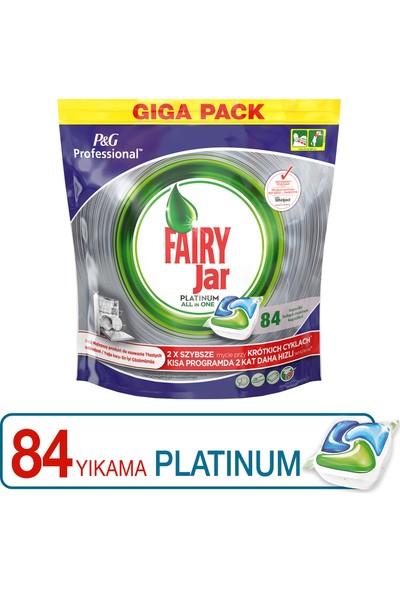 Fairy Professional 84 Yıkama Platinum Bulaşık Makinesi Deterjanı Kapsülü PGP