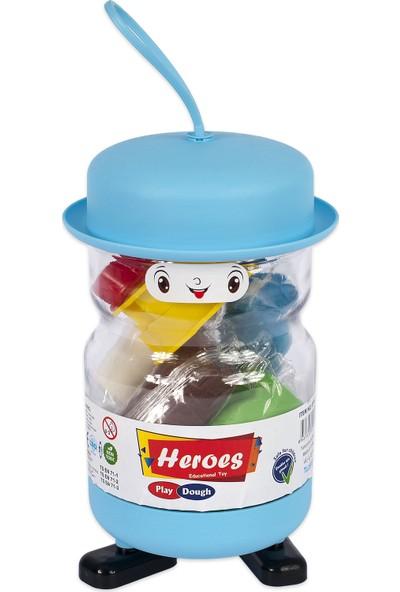 Heroes Şapkalı Oyun Hamuru ERN-552